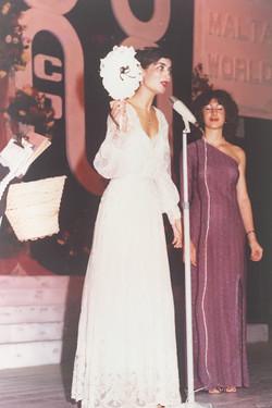 35. Miss Fgura in Miss Malta Contest 1980