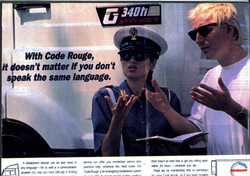 65. London Modelling - Code Rouge Advert - UK