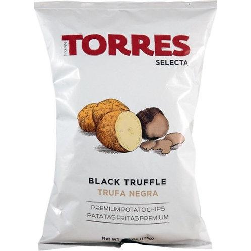 TORRES 黑松露味薯片 125克 Selecta Potato Chips - Black Truffle 125G