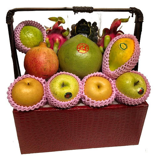 A 傳統果籃 Traditional Fruit Basket 連運費