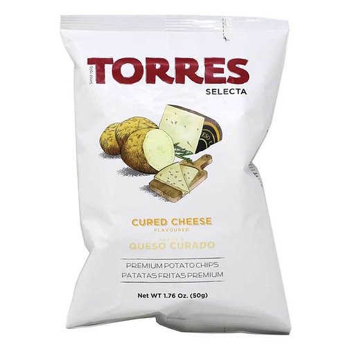 TORRES 芝士味薯片 50克 Selecta Cured Cheese Flavoured Premium Potato Chips 50g