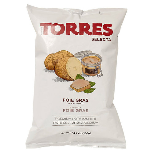 TORRES 鵝肝味薯片 150克 Selecta Foie Gras Premium Potato Chips 150G