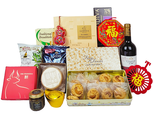 賀年禮物籃 B Chinese New Year Hamper B 連運費 Free Delivery