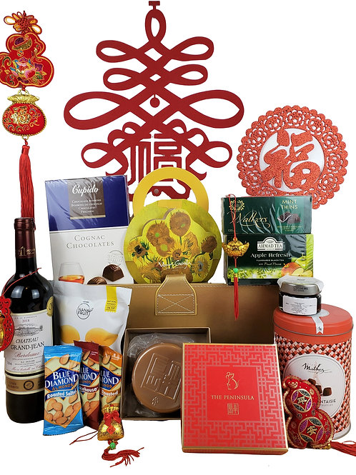 C 賀年禮物籃 Chinese New Year Hamper C 連運費 Free Delivery