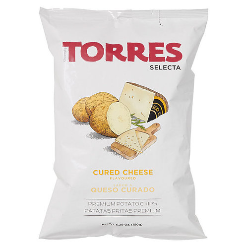 TORRES 芝士味薯片 150克 Selecta Cured Cheese Flavoured Premium Potato Chips 150g
