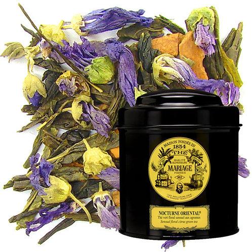 Mariage Frères - 法國瑪黑茶葉 鐵罐包裝 NOCTURNE ORIENTAL® Sensual Floral Citrus 100克/3.5安士