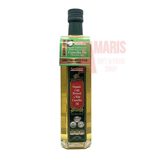 有機冷壓野生茶花籽油 500毫升 //Organic Cold Pressed, Wild & EV Camellia Oil 500ml