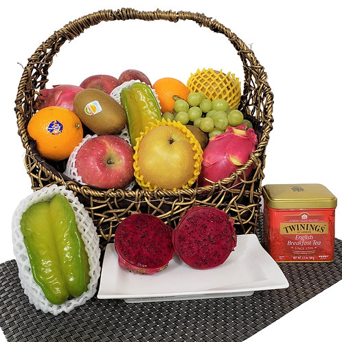 E 傳統果籃 Traditional Fruit Basket 連運費
