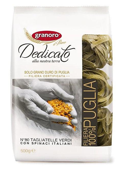 意大利菠菜闊麵 Pasta Nests 500克 // Italian Green Spinach Tagliatelle Pasta Nests 500g