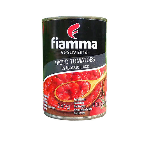 意大利切粒去皮蕃茄 400克 // Italian Diced Tomatoes in Tomato Juice 400gram