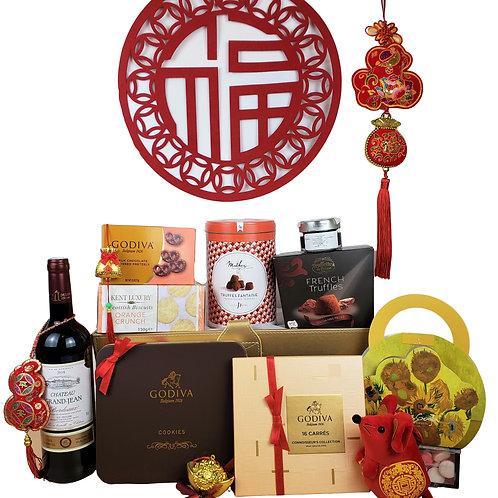 K 賀年禮物籃 Chinese New Year Hamper K 連運費