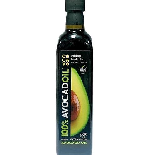 COCAVO 100% 特級初榨牛油果煮食油 500ml // 100% Extra Virgin Avocado Oil 500ml