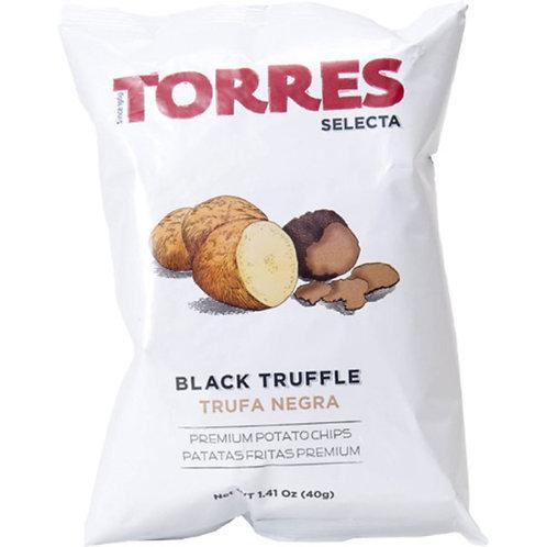 TORRES 黑松露味薯片 40克 Selecta Potato Chips - Black Truffle 40G