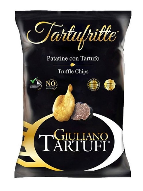 Giuliano Tartufi 黑松露薯片 45克 Chips With Truffle 45g