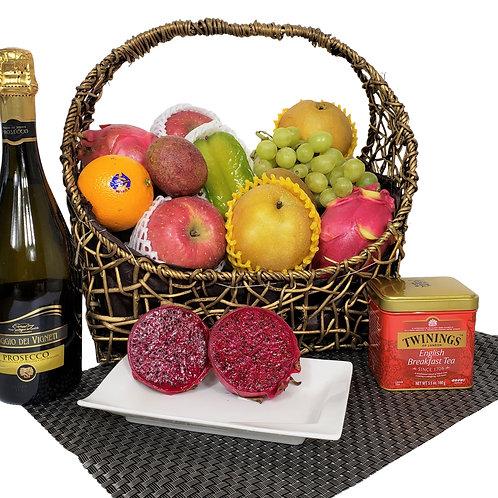 H 傳統果籃 Traditional Fruit Basket 連運費