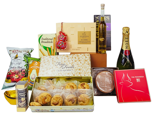 賀年禮物籃 E Chinese New Year Hamper E 連運費 Free Delivery