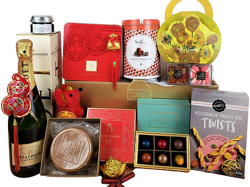 H 賀年禮物籃 Chinese New Year Hamper H 連運費 Free Delivery