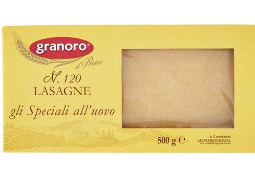 意大利雞蛋千層麵500克 // Italian N.120 Egg Lasagne 500gram