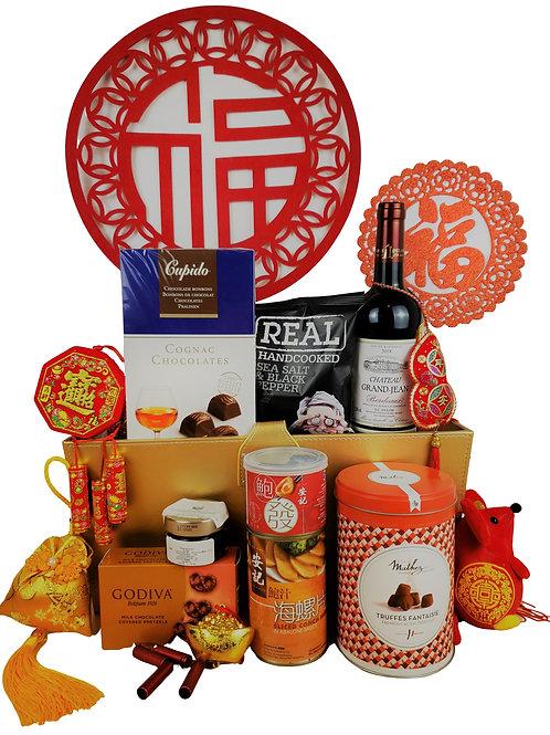 J 賀年禮物籃 Chinese New Year Hamper J 連運費