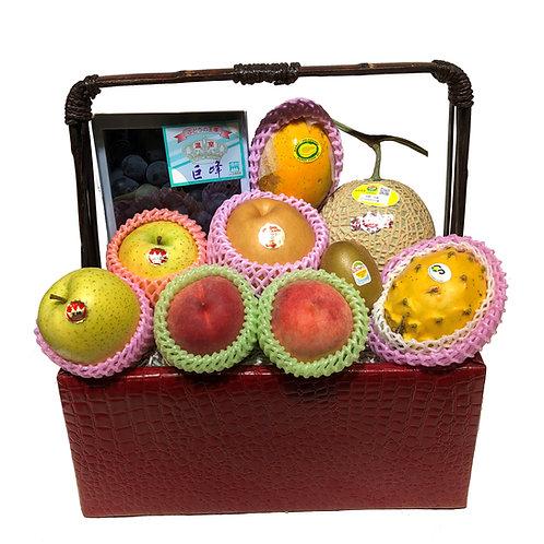 C 傳統果籃 Traditional Fruit Basket  連運費