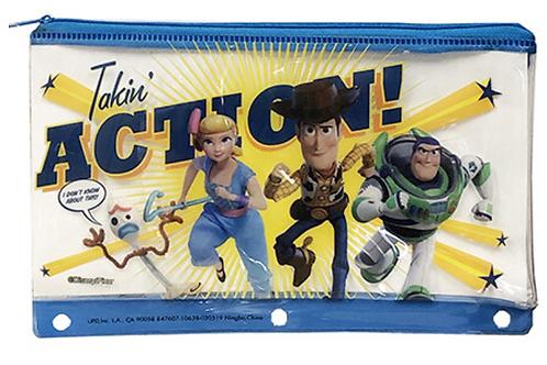 正版 Disney 迪士尼反斗奇兵 4 筆袋