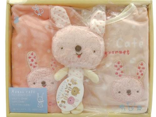 (日本製) BB 禮盒套裝 (Made in Japan) 100% Cotton Baby Girl Set
