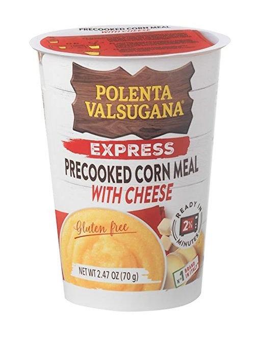 意大利即食芝士粟米糊 - 70克 (無麩質) / Precooked Corn Meal Express w/ Cheese 70g(Gluten free)