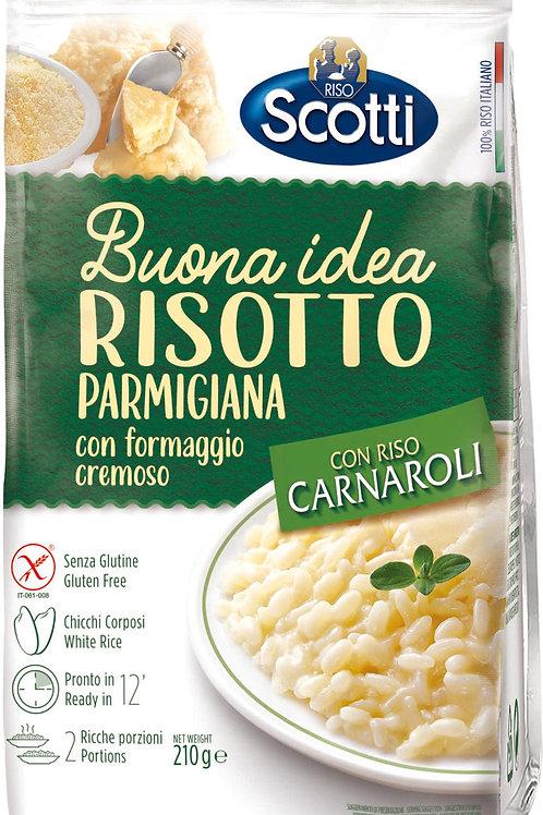 巴馬臣芝士意大利風味飯 210克 // Risotto Parmigiana with Cream Cheese 210 gram