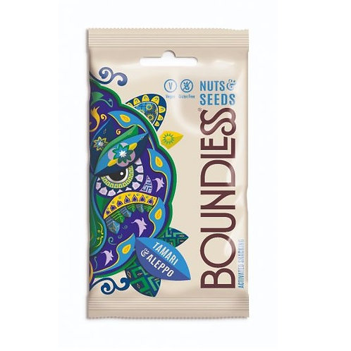 Boundless - 醬油和阿勒頗雜錦果仁 (30克) / Tamari & Aleppo Activated Nuts & Seeds (30g)
