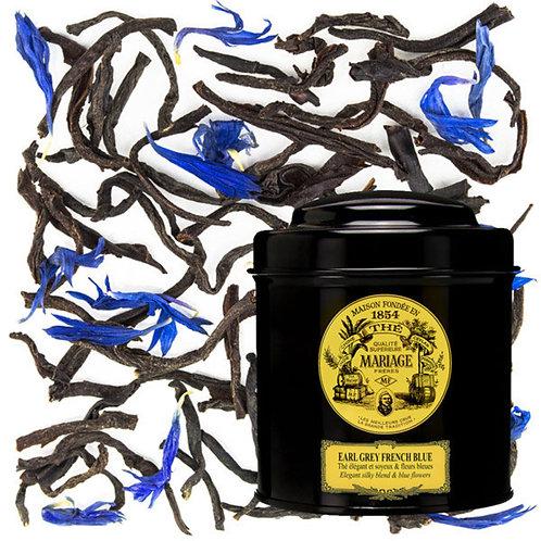 Mariage Frères - 法國瑪黑茶 鐵罐包裝 EARL GREY FRENCH BLUE® Velvety bergamot & royal blue