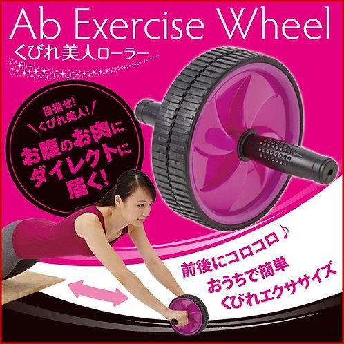 腹部訓練 ( 男女適用 )  Fitness Abs Building Exercise Roller Abdominal Training (Suitable
