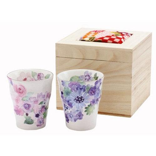 (日本製) 一套兩件 陶瓷杯 禮物 禮盒套裝 (Made in Japan) Set of 2 pcs Ceramic Cup Gift Set