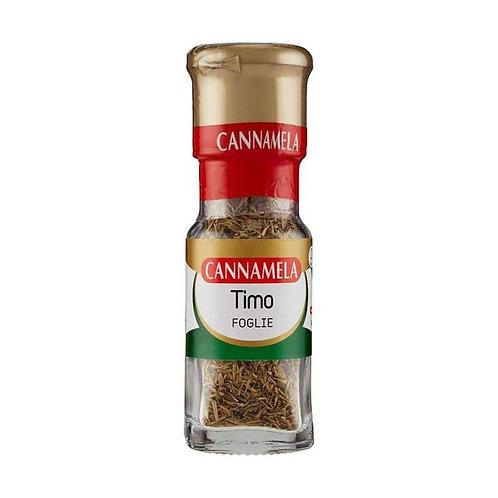 Cannamela - 意大利百里香葉 8克 //  Thyme Leaves Glass Dispenser / Timo 8 gram