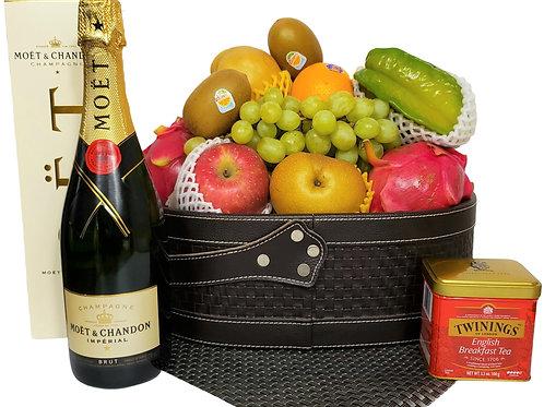 K 傳統果籃 Traditional Fruit Basket 連運費