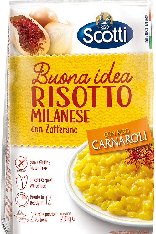 米蘭式意大利風味飯 210 克 // Risotto Milanese Con Zafferano Ambrato 210 gram