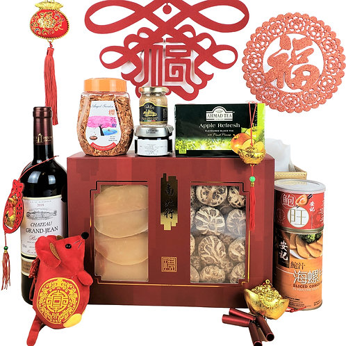 D 賀年禮物籃 Chinese New Year Hamper D 連運費 Free Delivery