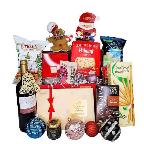 聖誕禮物籃 D    Christmas Hamper D