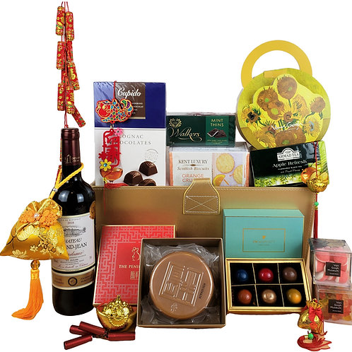 E 賀年禮物籃 Chinese New Year Hamper E 連運費 Free Delivery