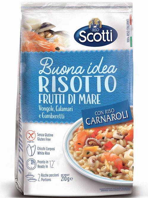 海鮮意大利風味飯 210克 / Risotto Frutti Di Mare Vongole, Calamari E Gamberetti 210gram