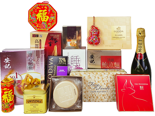 賀年禮物籃 F Chinese New Year Hamper F 連運費 Free Delivery