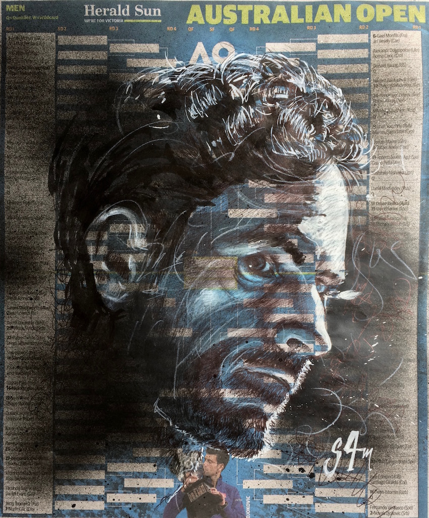 Andy Murray (30x40)