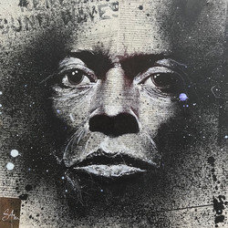 Miles Davis (36x36) dispo en galerie
