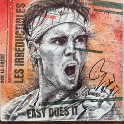 Rafa_Nadal_signé par l'athlète (30x30) d