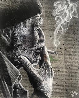 Le fumeur (vendu)