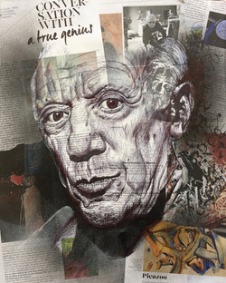Pablo Picasso (40x50) vendu