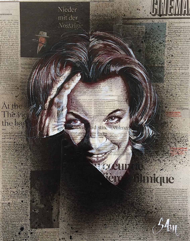 Romy Schneider (40x50) vendu
