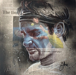 Roger Federer (40x40)