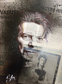 David Bowie (40x50) vendu