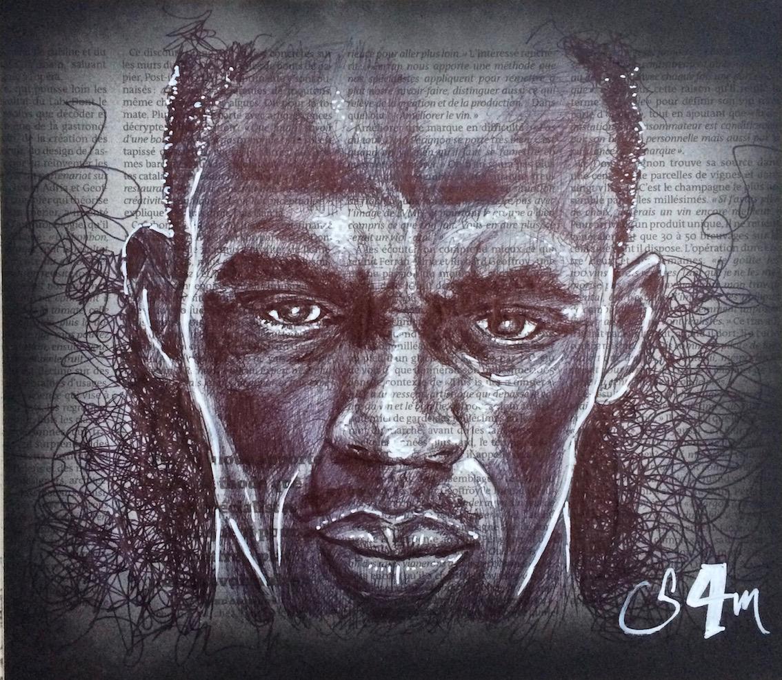 ussain Bolt (30x30)