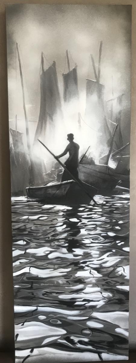 Retour de pêche (40x120) disponible